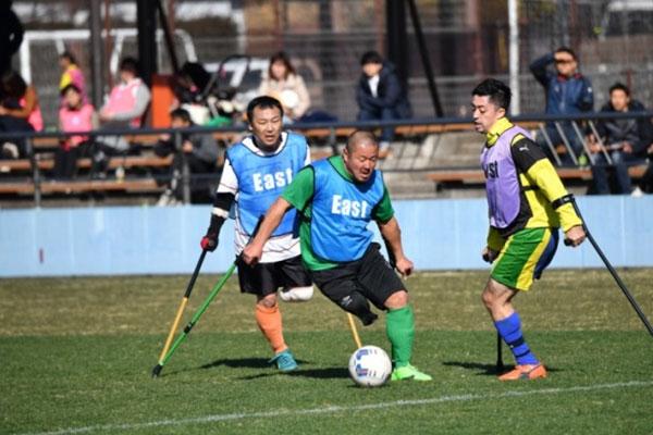 第3回障がい者サッカーフェスティバル報告(アンプティサッカーの部)
