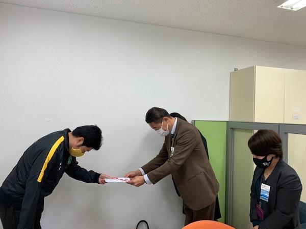 住友生命静岡様から御協賛いただきました!