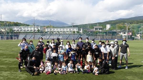デフキッズサッカー体験会をお手伝いしました