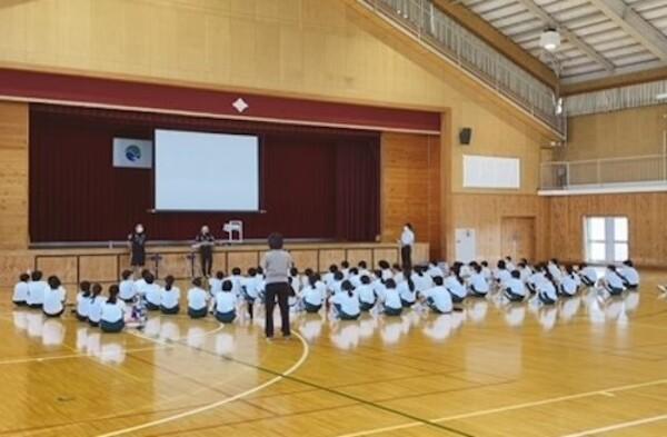 浜松市立東部中学校1年生のパラリンピックの学び
