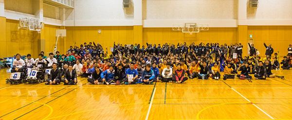 第1回静岡障がい者サッカーフェスティバル 1日目閉会式
