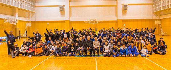 第1回静岡障がい者サッカーフェスティバル 2日目閉会式